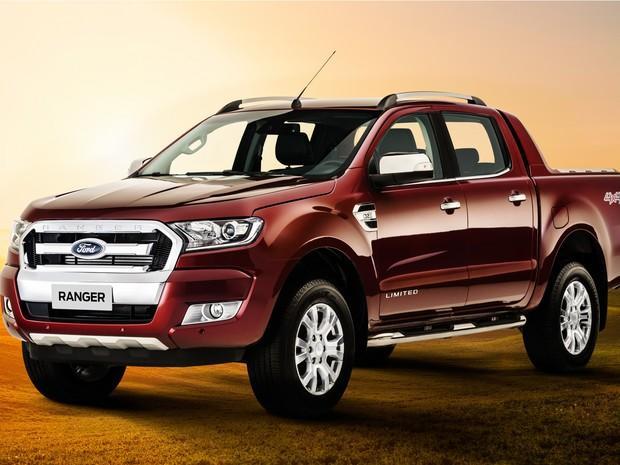 Nova Ford Ranger teve imagens reveladas
