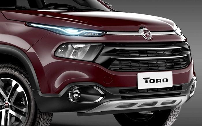 Lançamento da Fiat Toro no Brasil