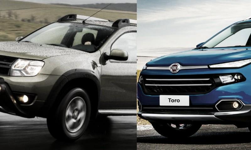 Renault Duster Oroch x Fiat Toro – Qual é Melhor?