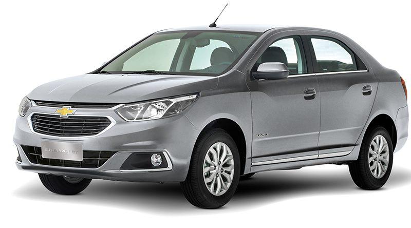 Chevrolet Cobalt 2018 – Especificações, Ficha Técnica