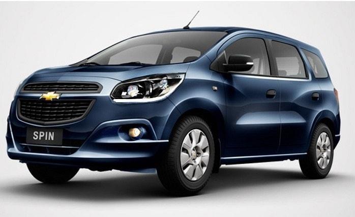 Chevrolet Spin 2018 – Especificações, Características