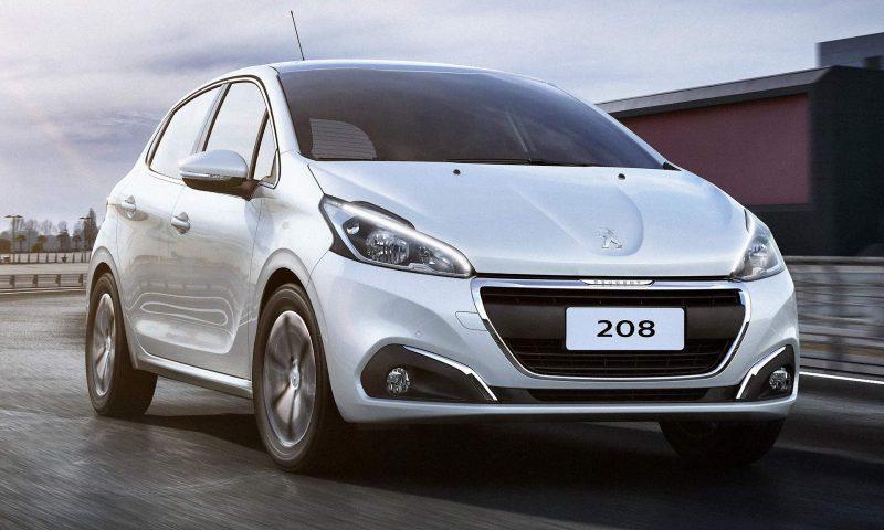 Peugeot 208 2018 – Especificações, Ficha Técnica