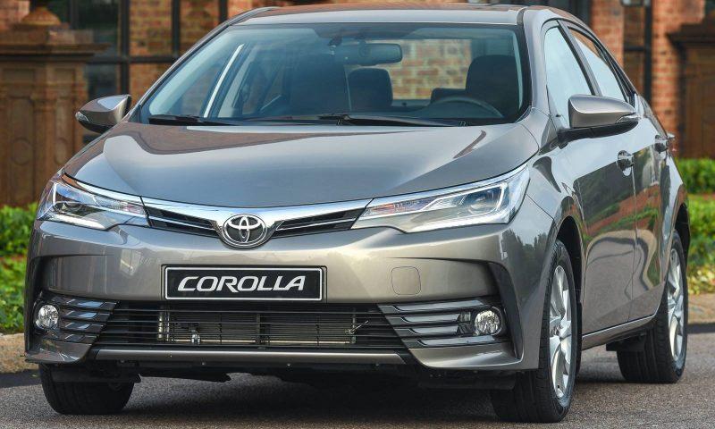 Toyota Corolla 2018 – Especificações, Ficha Técnica