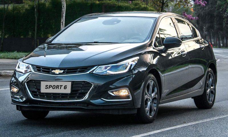 Chevrolet Cruze Hatch 2018 – Características, Ficha Técnica